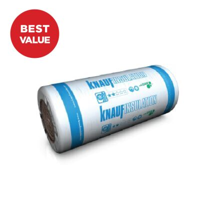 Image for Knauf Loft Roll (Combi Cut) 44, 100mm (13.89m2)