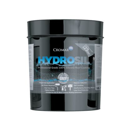 Image for Cromar HydroSil Liquid Silicone Roof Coating 25kg (18.9L)