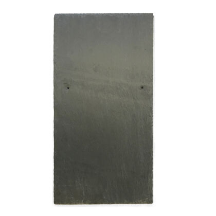 Image for Welsh Slate Cwt-y-Bugail County 7mm PreHole 500mm x 250mm (20 x 10) Roof Slate