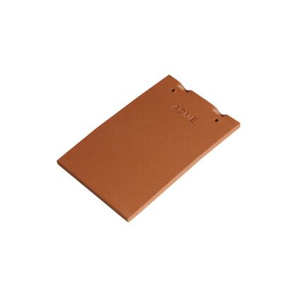 Image for Marley Acme Plain Clay Roof Tile Single Camber - Red Smooth KE301