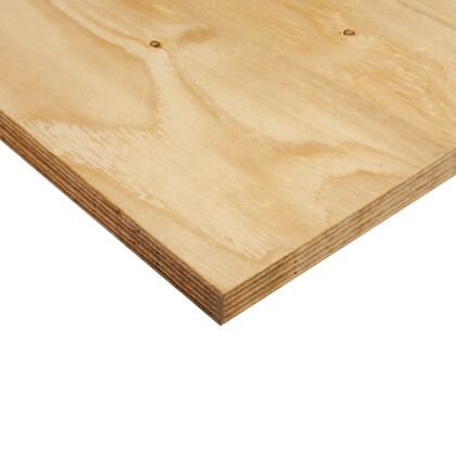 Image for Timber Plywood Sheet External Hardwood 2400mm x 1200mm 6mm