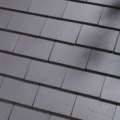 Image for Dreadnought Plain Clay Eave Tile - Staffordshire Blue Smooth