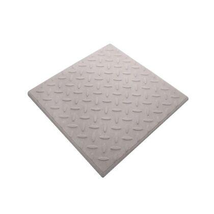 Image for Castle GRC Checkerplate Promenade Tiles Light Grey