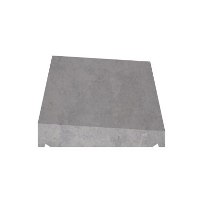 Image for Castle Once Weathered Coping Stone 300mm x 600mm - Grey