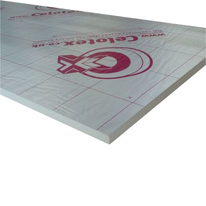 Image for Celotex TB4025 PIR Insulation Board 2400mm x 1200mm x 25mm (16)